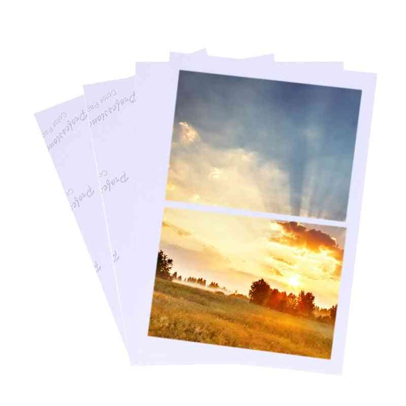 Glossy Photo Paper, High Quality For Inkjet Printers