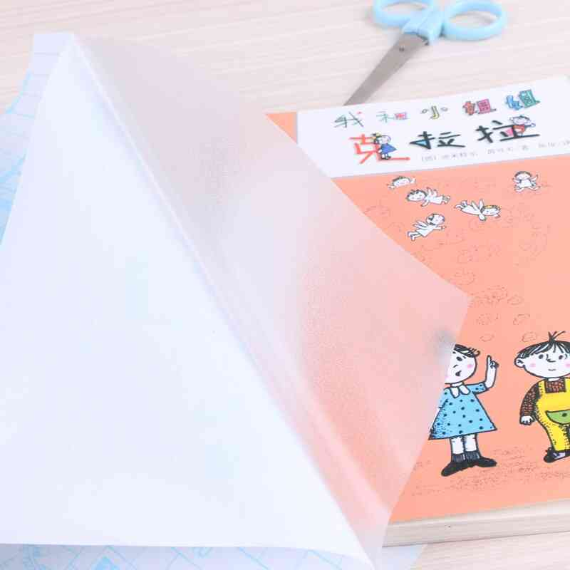 Matte Adhensive Book Wrapping Film Students School Books Cover Protector