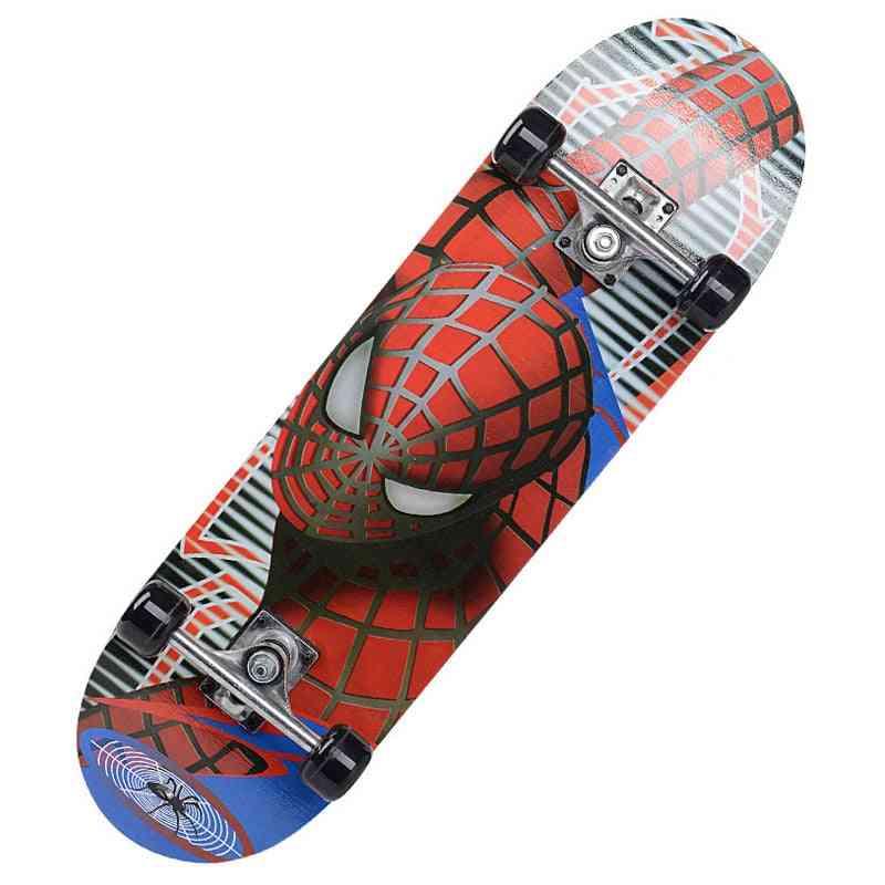 Double Rocker Skateboard, Longboard Cartoon Skateboards Marple