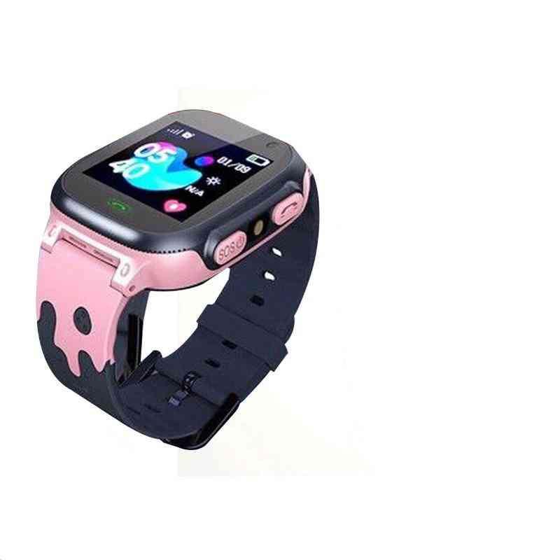 Smart Watch Lbs Sos Antil-lost Waterproof 2g  Clock Location Tracker Watches