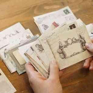 Retro Vintage European Style-mini Cute Paper Envelope