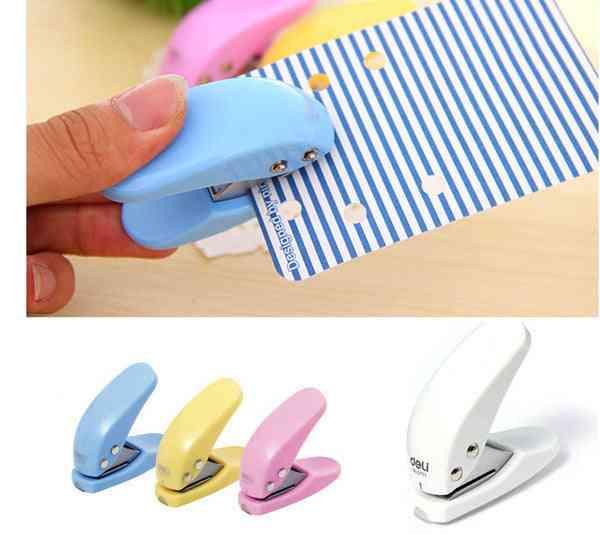 Mini Card / Paper Craft - Circle Pattern Hand Hole Puncher