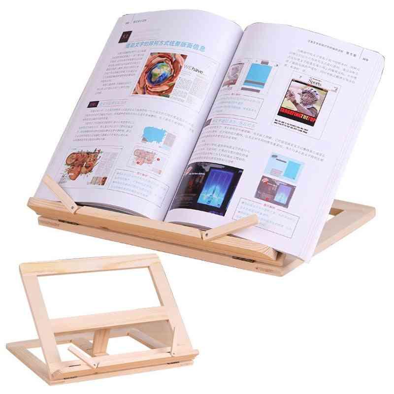 Wooden Frame Bookshelf Bracket For Reading