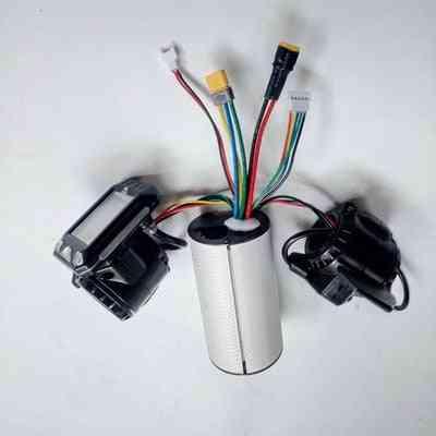 Folding Scooter Controller Accessories, Carbon Fiber Brake Accelerator Lcd Unit