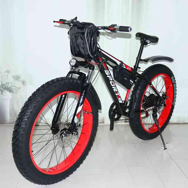 New Electric Snowmobile Mountain Bike