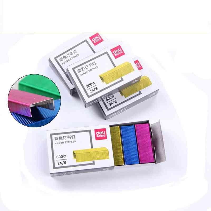 Color Staples/stapler Needle File Document Data Binding