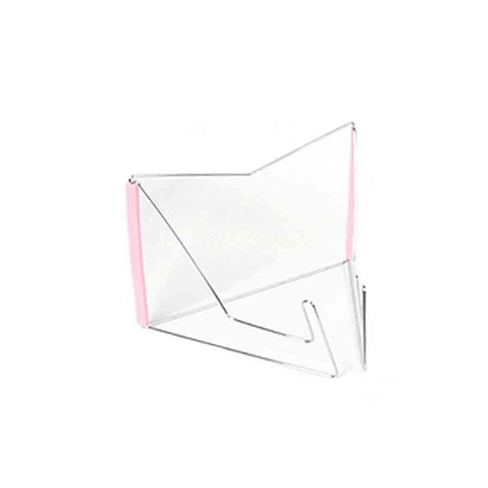 Notebook Reading Holder Foldable, Adjustable Document Base, Multifunction Book Stand Storage