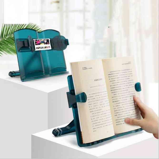 Adjustable, Reading Book Holder Bookshelf