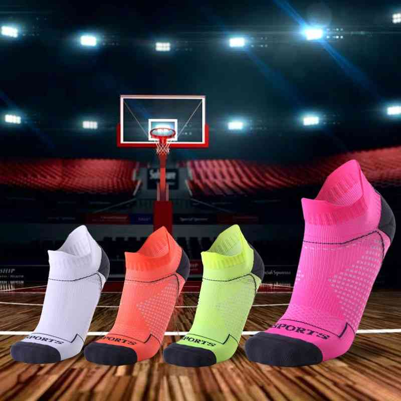 Breathable Running Fitness Basketball Cycling Compression Elastics Sport Sock