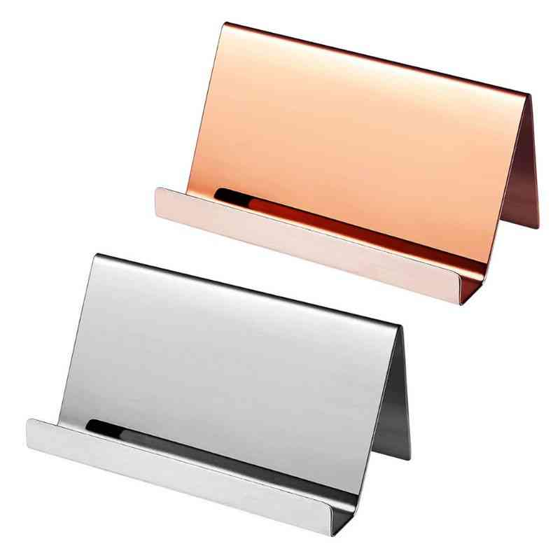 Stainless Steel Business Name Card Holder