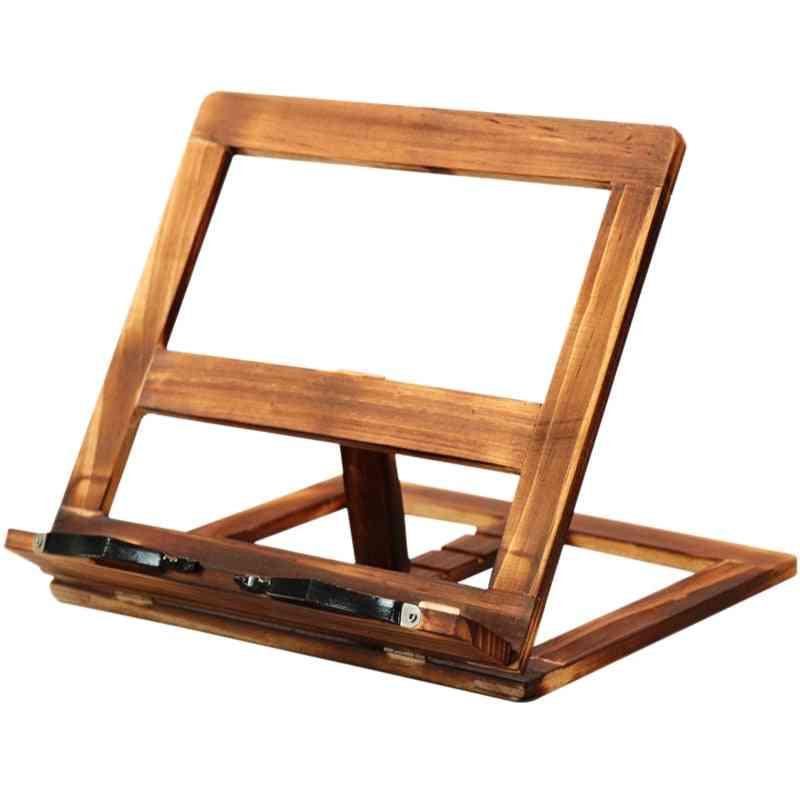 Foldable Wooden Frame Reading Bookshelf