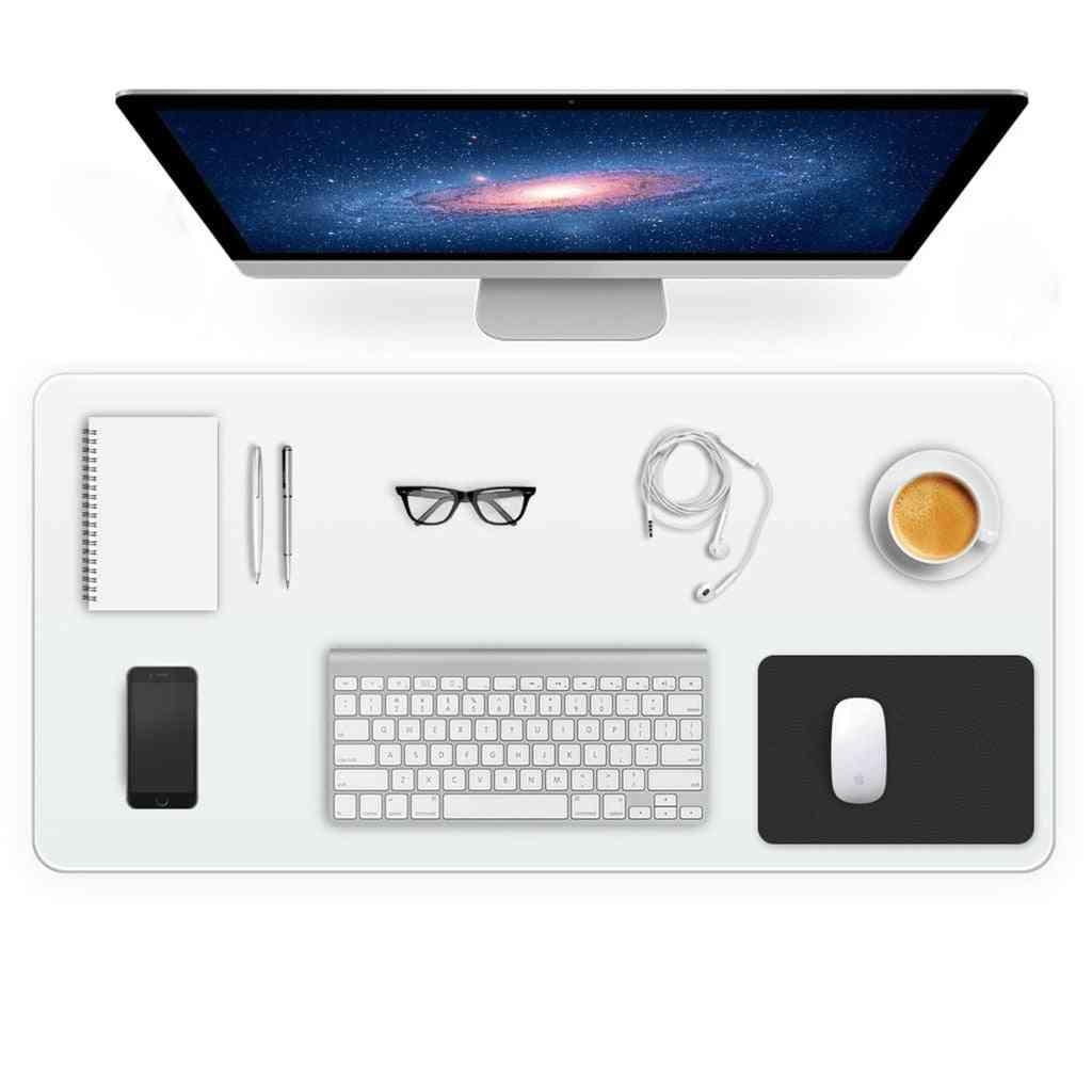 Transparent Non-slip Round Edges Pvc Desk Mat, Textured Pad