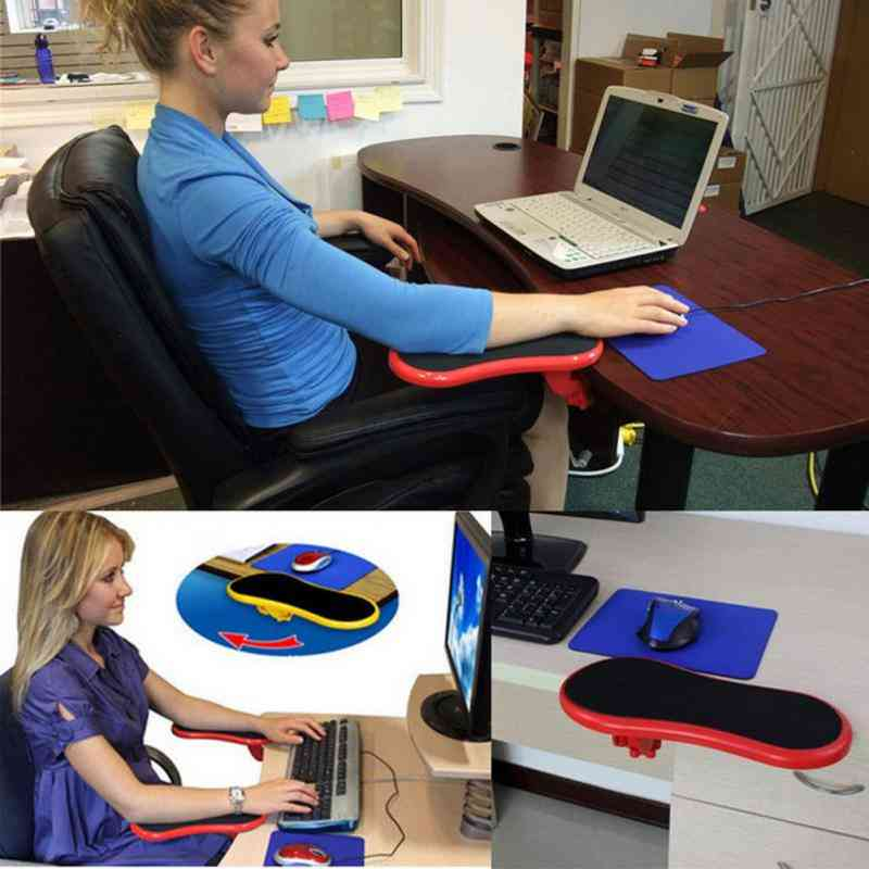 Desk Computer Table Arm Support Mouse Pads