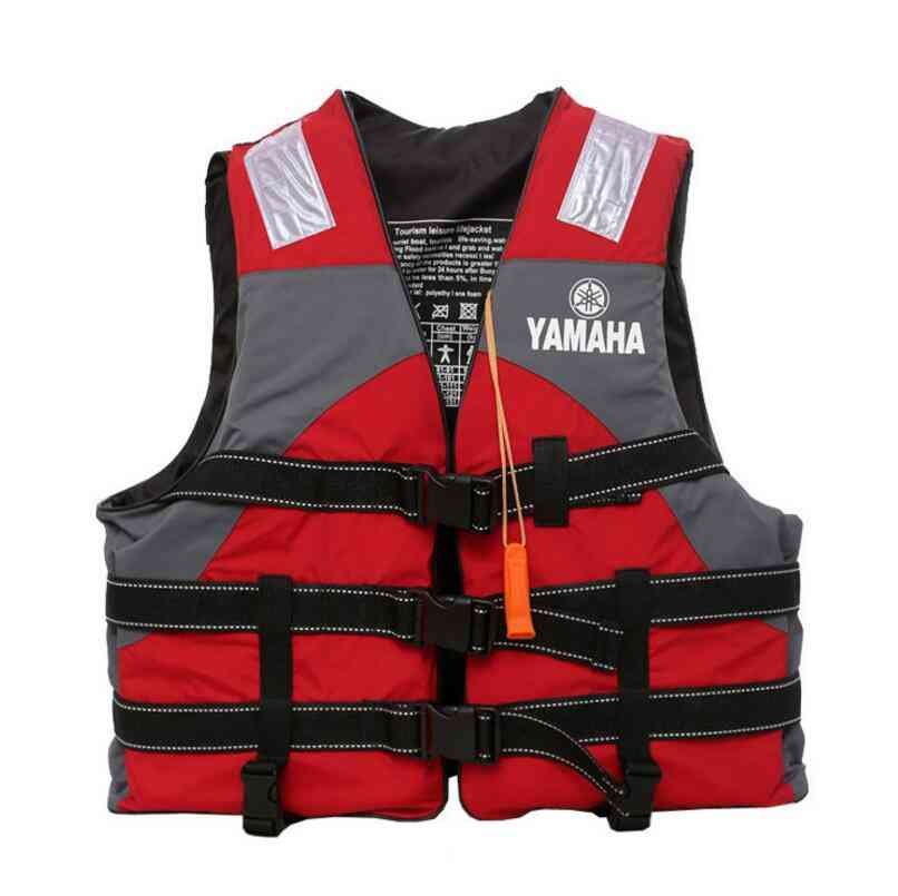 Outdoor Rafting Yamaha Life Jacket For And Adult Swimming Snorkeling Fishing Suit