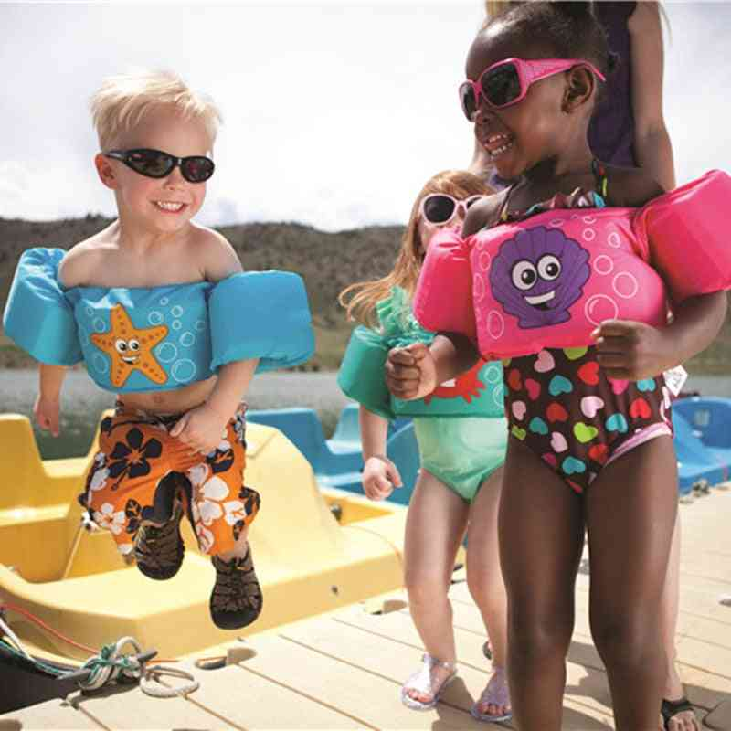 Baby Swim Rings Foam Cartoon Buoyancy Vest, Safety Life Jackets