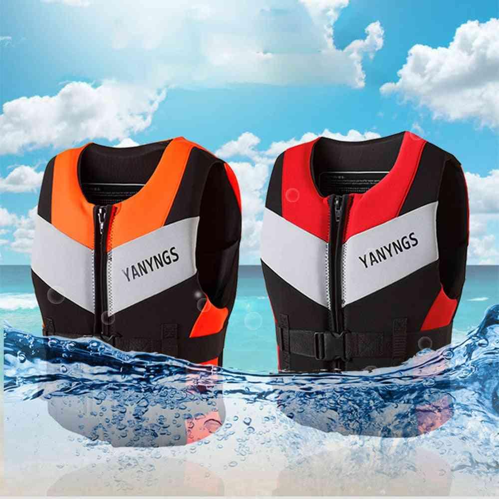 Sports Fishing Water Skivest - Kayaking, Boating, Swimming & Drifting Safety Vest