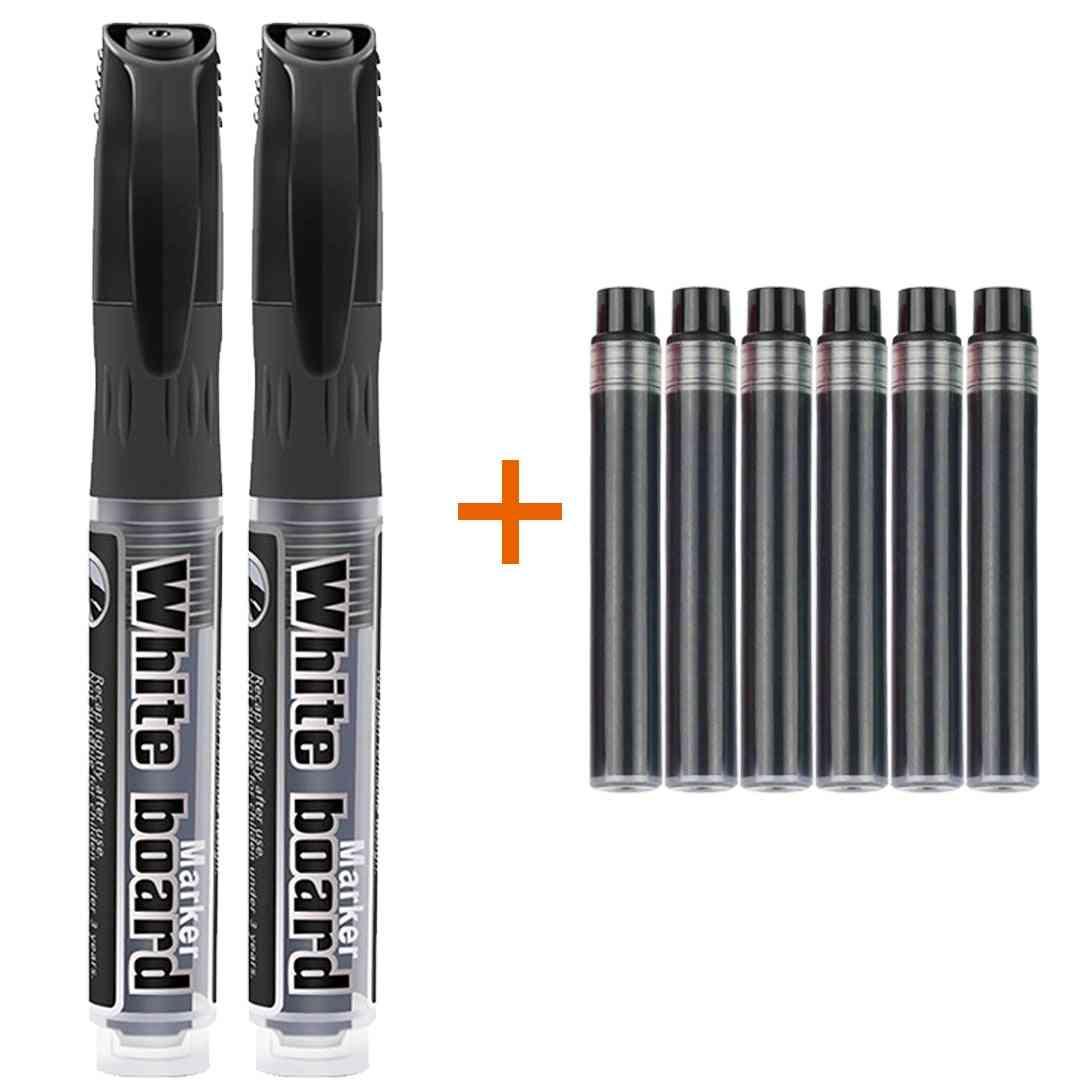 Erasable Whiteboard Marker Pen And Refills