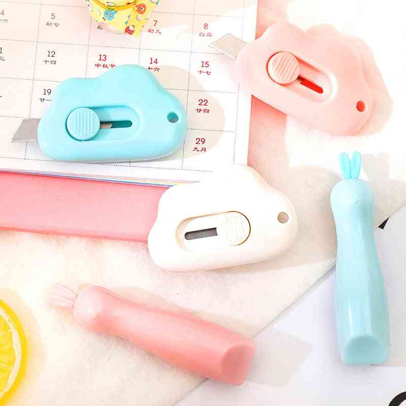 Cute Cloud Shape Stainless Steel Letter Opener Paper Cutting Ulity Knife
