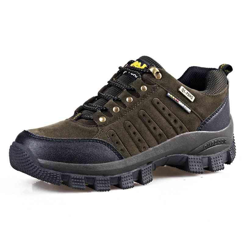 Men Waterproof Shoes, Mesh Beach Outdoor Hiking Shoe
