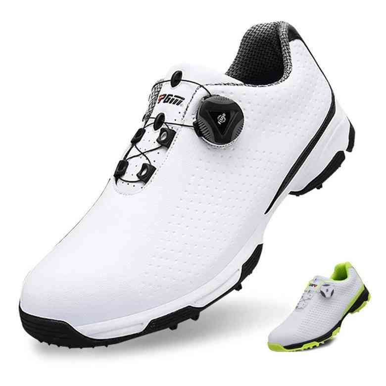 Waterproof, Mesh Lining And Breathable Golf Shoes