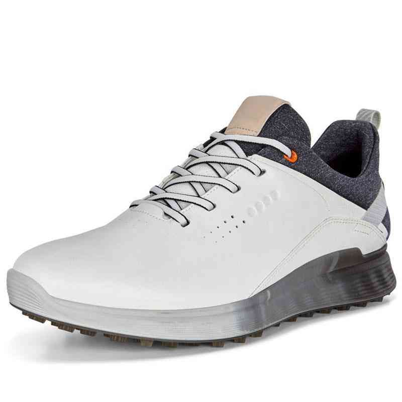 Genuine Leather Golf Sport Training Sneakers For Men