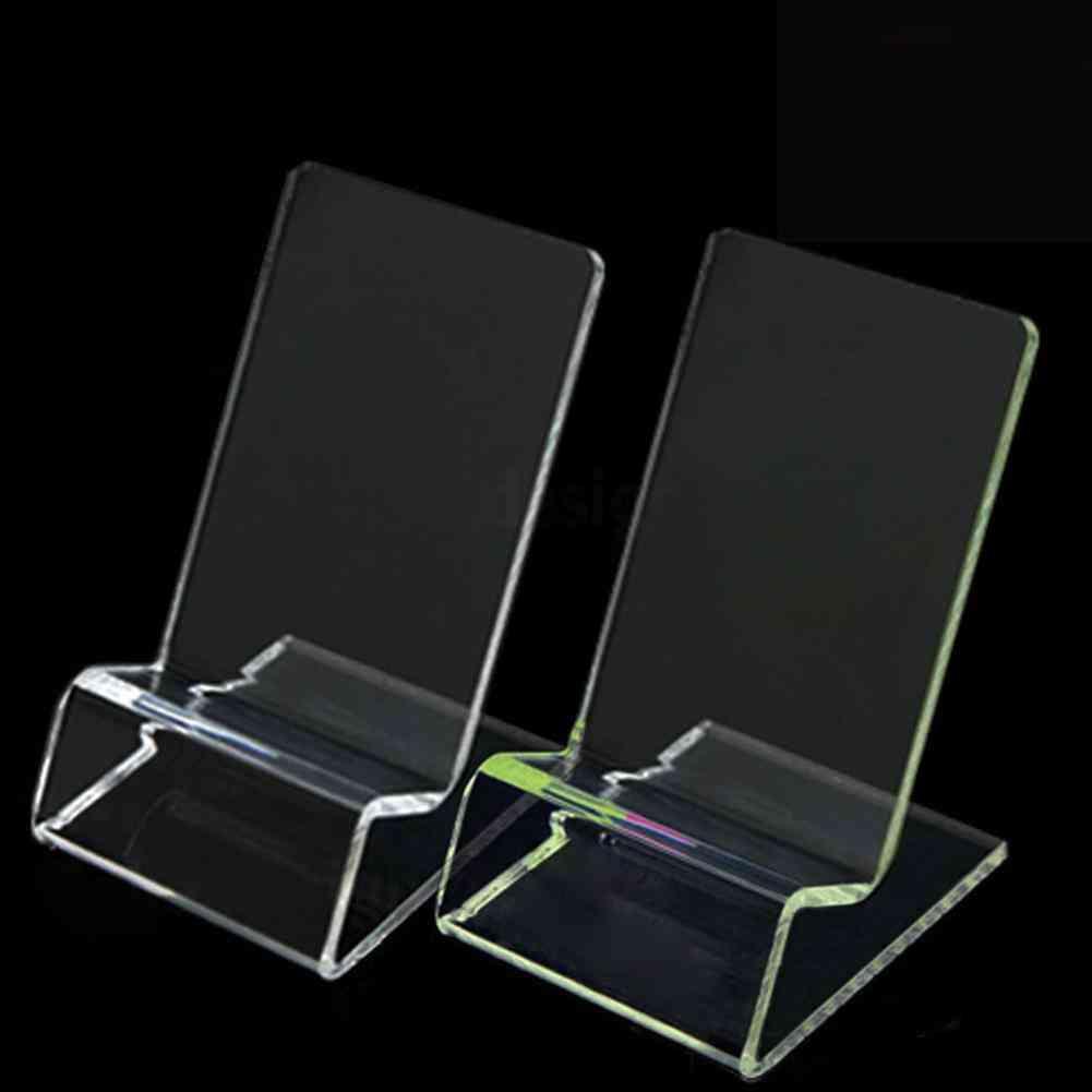Transparent Office Desk Accessories Clip, Business Card Holders