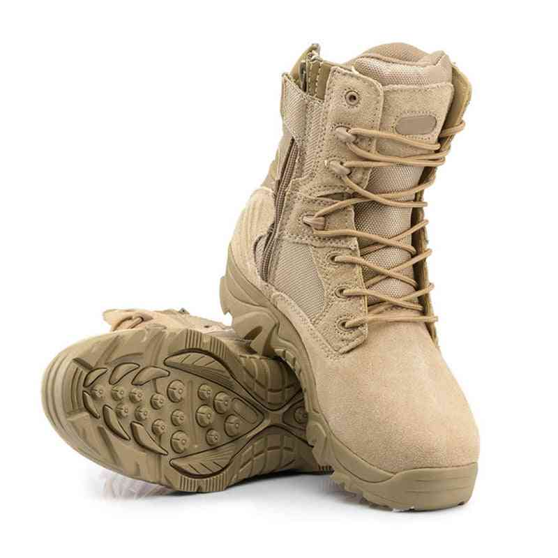 Professional Climbing, Trekking, Camping, Hunting Shoe Waterproof Military Tactical Boots For Men