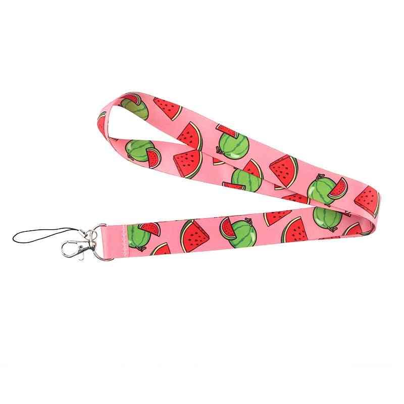 Creative Watermelon Keychain - Cartoon Phone Lanyard Fashion Strap