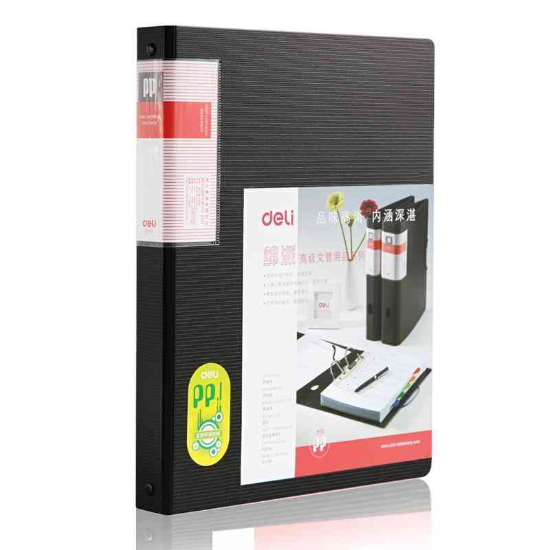 Large Capacity Business A4  Card Book Organizer