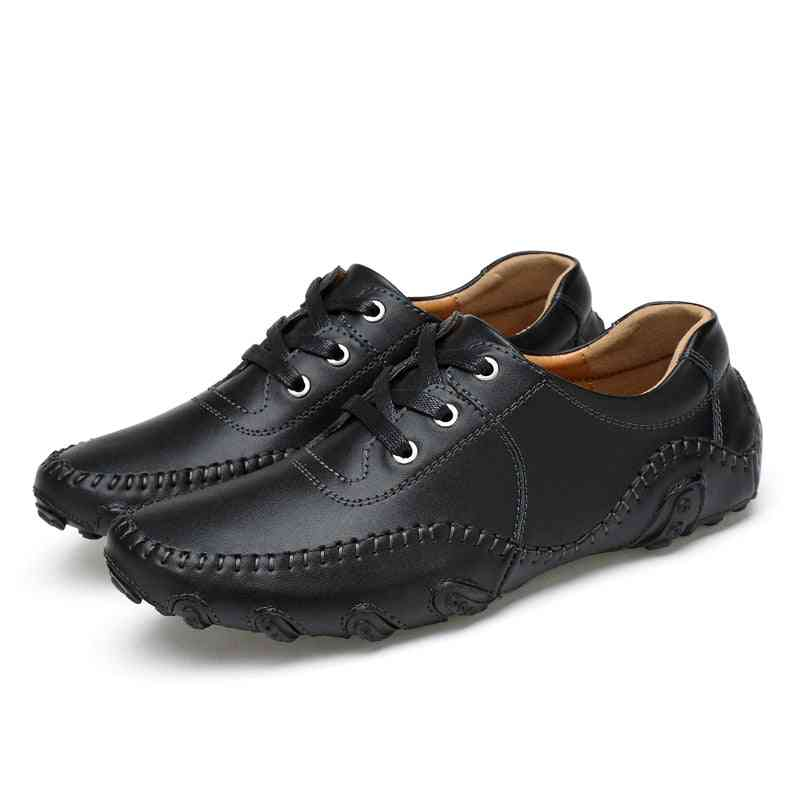 Spring/summer Comfortable Sports Golf Training Leather Sneakers For Men's