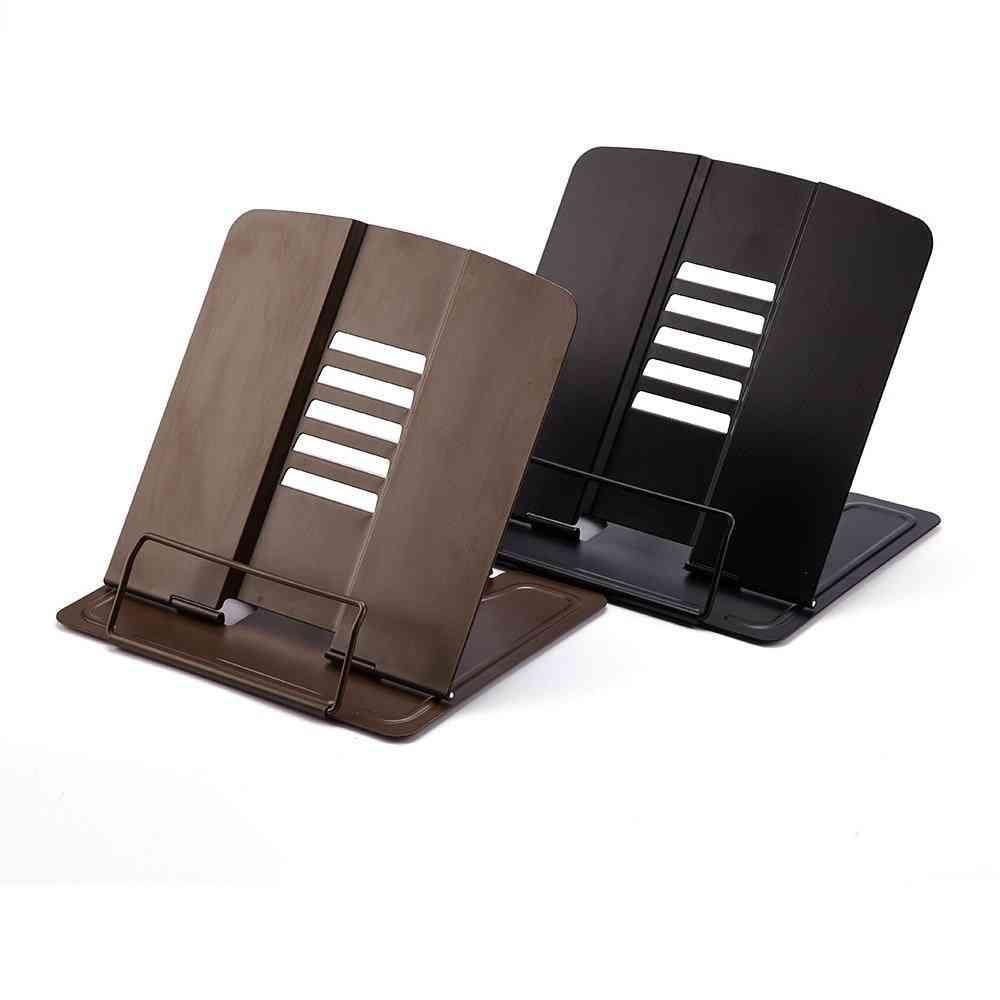 5-angles Bookstand, Document Holder, Portable Adjustable, Bookshelf Reading Accessories