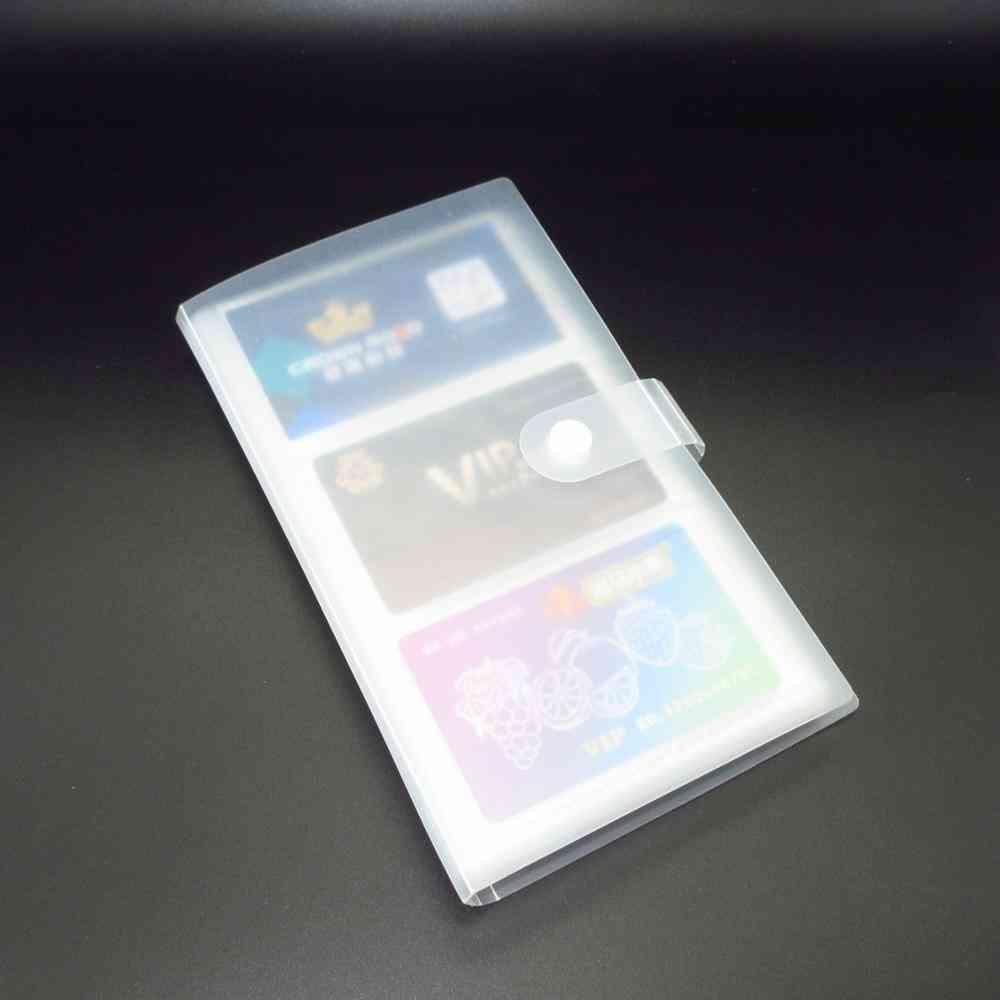Transparent Business Card Holder