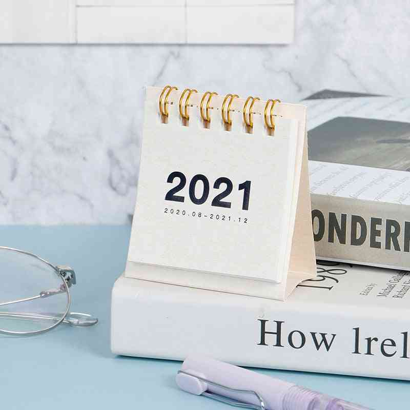 2021 Twelve Constellation Series-mini Desk Calendar