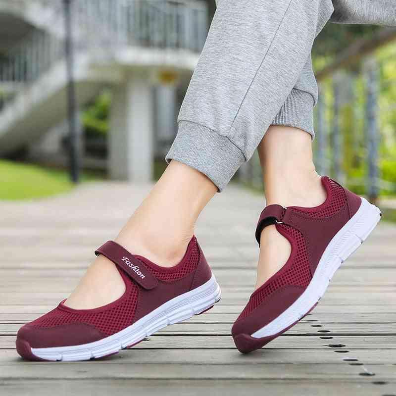 Summer Breathable Women Sneakers, Healthy Walking Mesh Sport Running Shoes
