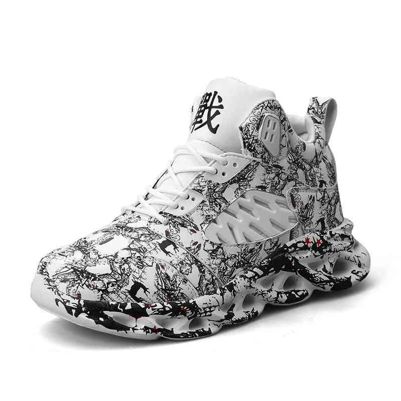 Men Damping Comfortable Sports Sneakers, Jogging Footwear Outdoor Fitness Shoes