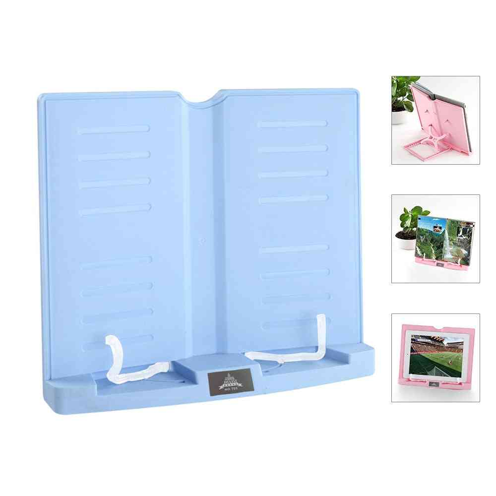 Portable Book Stand Adjustable 6 Angles Books Document Holder