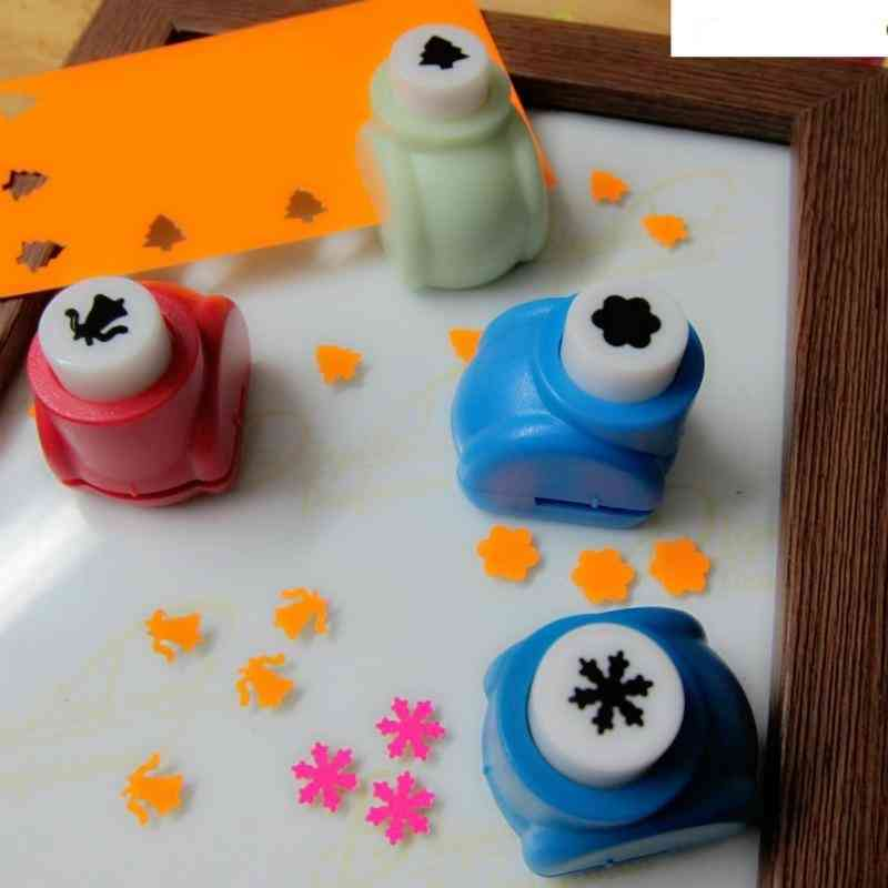 Mini Cute Patterns Hole Paper Punch Tool