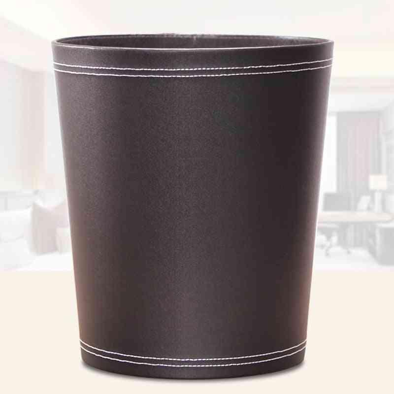 Large Capacity  Round Sahper Wastepaper Basket