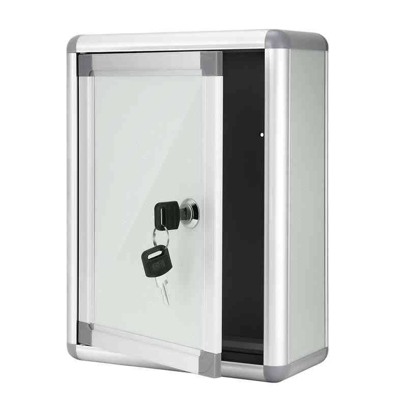 Small Suggestion Box With Lock Wall Hanging Complaint, Aluminium Alloy Boxes