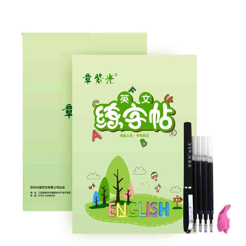 Children's Handwriting Learning English Practice Book