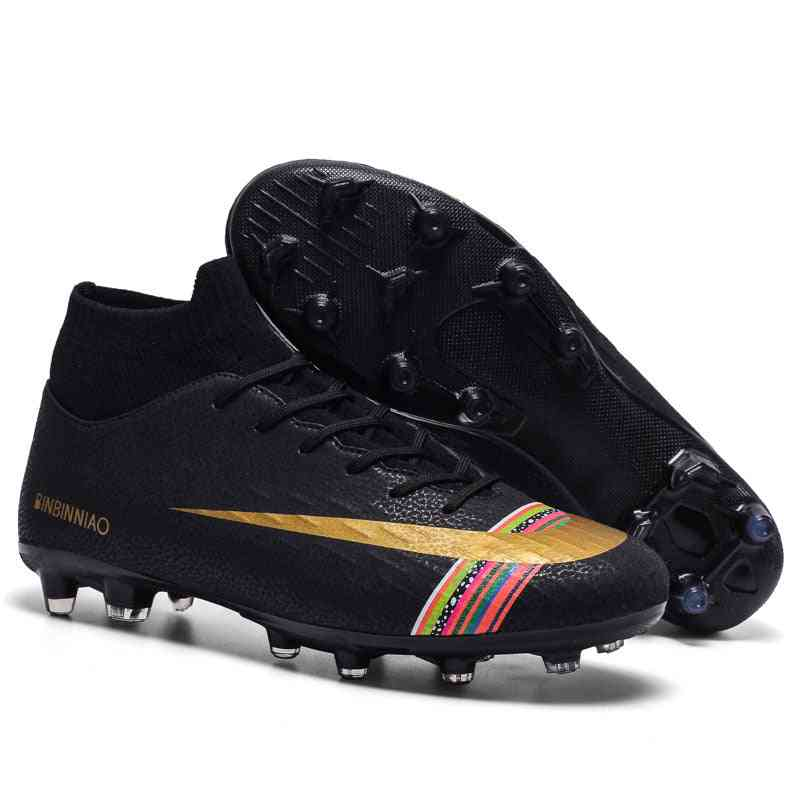 Football Soccer Cleats Long Spikes Sneakers