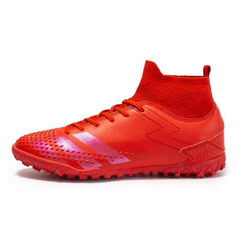 Football Boots Outdoor High Top Sneaker