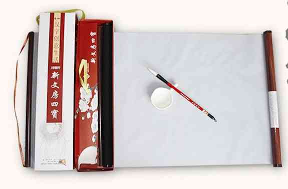 Water Drawing Cloth With A Shaft Of Water To Write Cloth Show Ink, Million Writing Four Treasures Suit Brush Pen Calligraphy