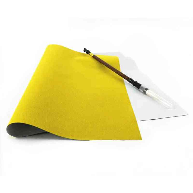 Water Drawing Cloth And Writing Brush Thicken Blank Calligraphy