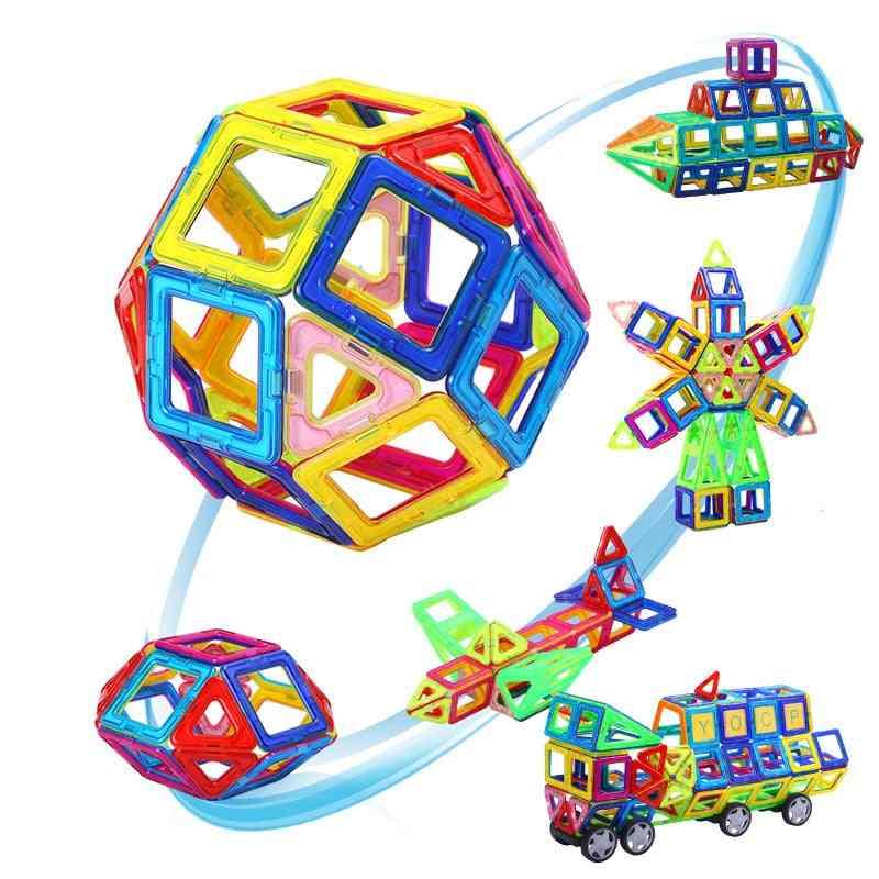 Mini Magnetic Building Blocks Games