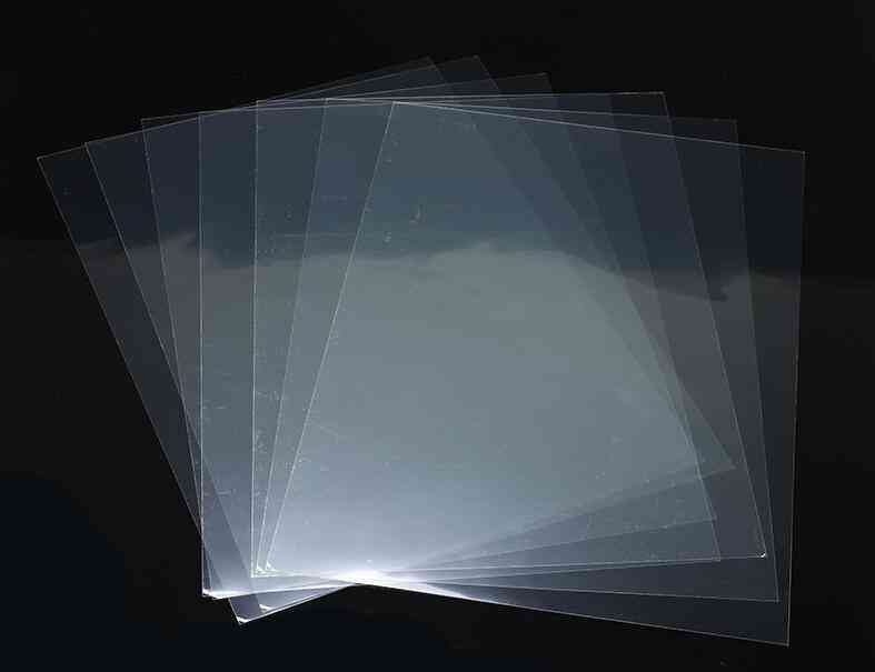 Clear Transparent Ultrathin Double Sided Tape, Sheet, Sticky Glue