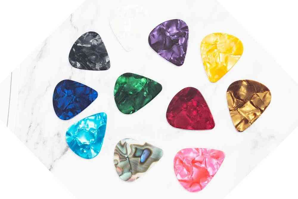 Guitar Pick Acoustic Plectrum Celluloid, Electric Smooth Accessories