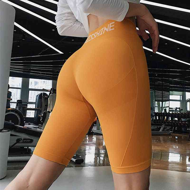 Women High Waist Energy Seamless Yoga Shorts, Fitness Sports Leggings