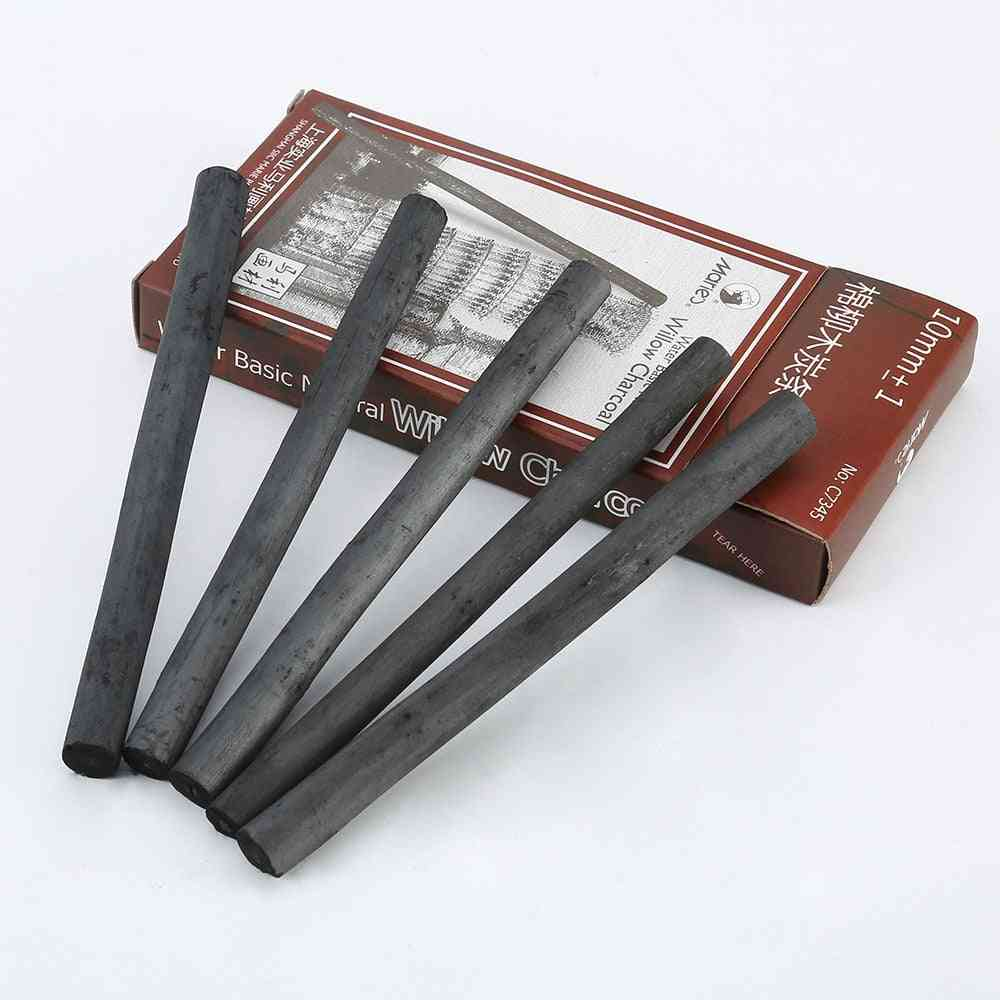 1pcs Art Supplies Drawing Sketch Pencil - Cotton Willow Charcoal Stick Pen