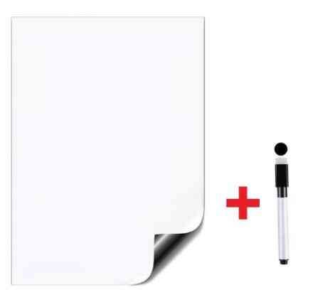 A4 Size Dry Erase Magnetic White Board Kit